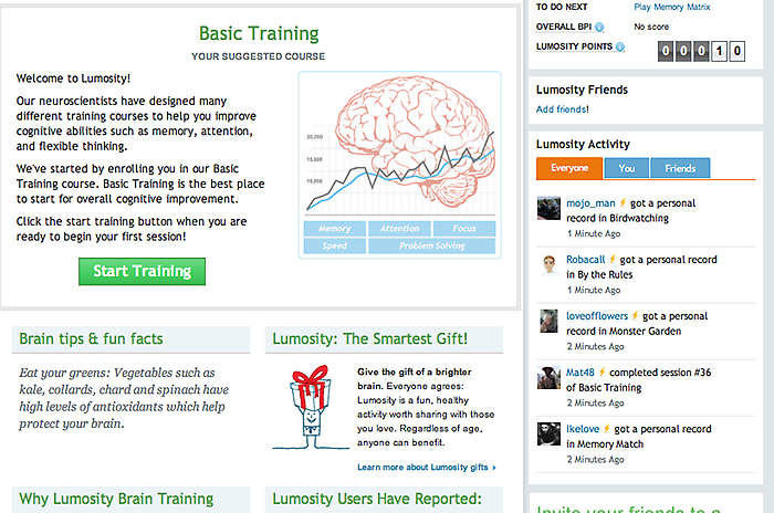 how to get lumosity for free