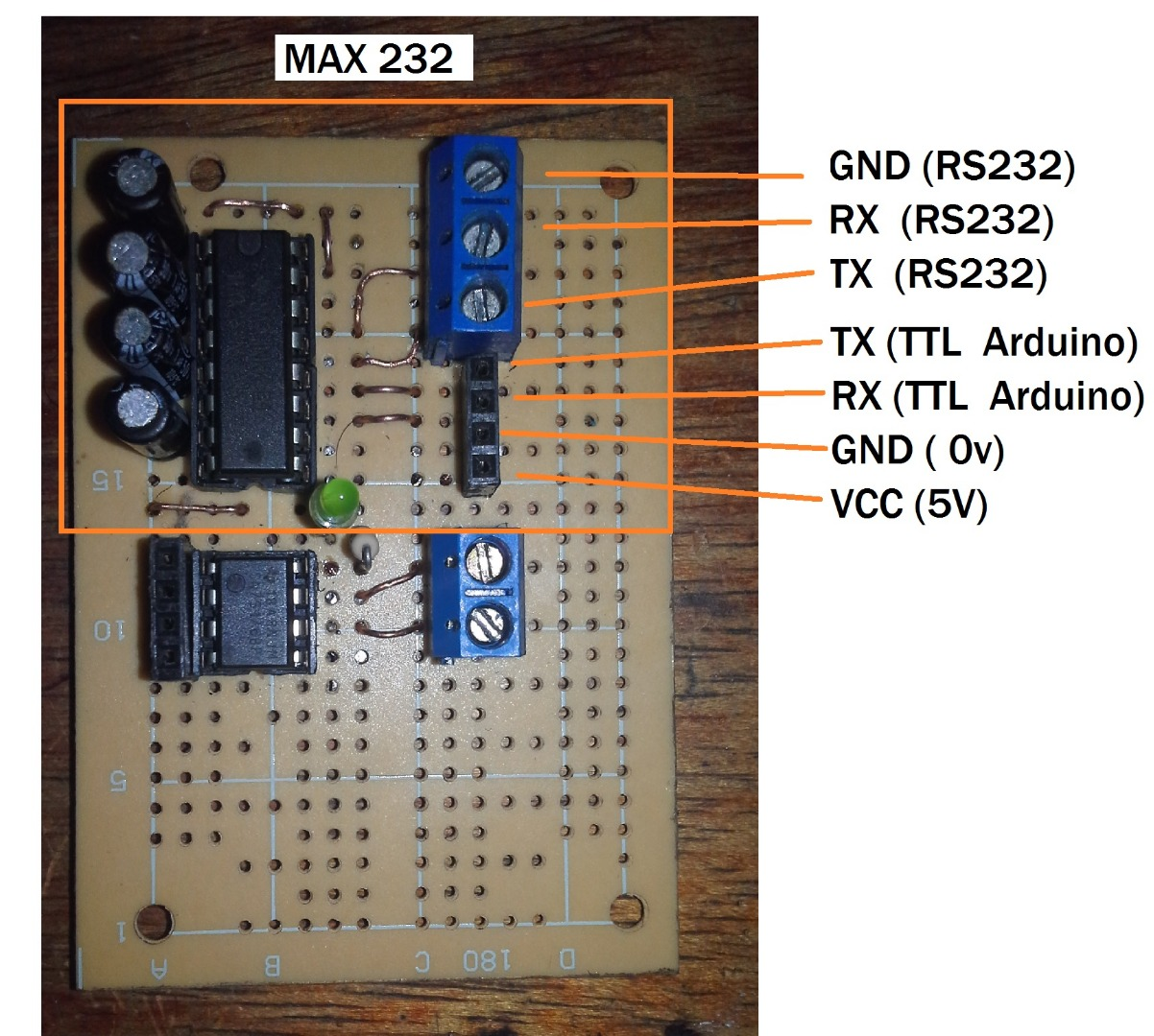Modbus Rtu Master With Arduino Via Rs232 Ttl To Converter By Max232 Is Used Voltage