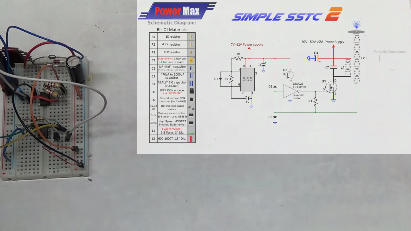 Easy Sstc Slayer Exciter On Steroids Photointerruptercircuitpng Now Just Modify The Circuit By Adding Transistor Between Power Rail For Ds0026 Mosfet Inverted Buffer Driver And 555 Circuitry To Drive That