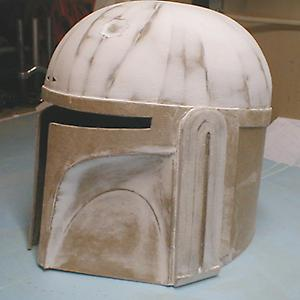how to make a cardboard ww2 helmet