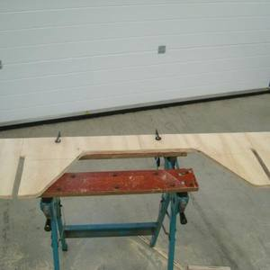 Flat Pack For Storage Plywood Picnic Table