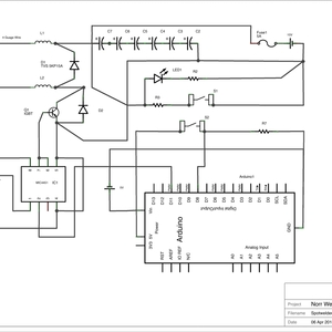 dual pulse capacitive discharge spot welder Breaker Wiring Diagram