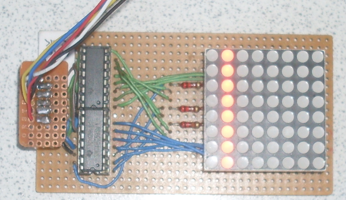 NODEMCU LUA ESP8266 With 74HC595 LED and Matrix Driver