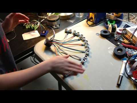Ultrasonic Pi Piano With Gesture Controls!